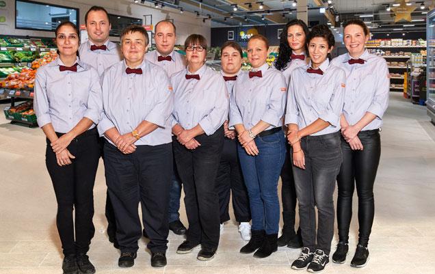 Team des Marktes Dreieich-Sprendlingen